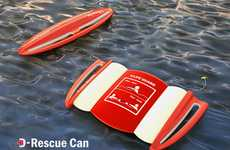 Multifunctional Life Savers - The D-Rescue Can Changes Shape to Save People