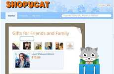Online Gift Advice Apps - Shopycat App Makes Gift Recommendations from Facebook Activity