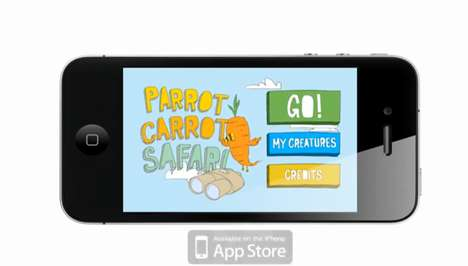 Interactive Picture Books - Parrot Carrot is the First Augmented Reality Children's Story