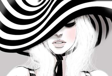 Dark-Eyed Drawings