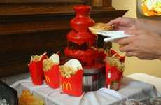 Tomato-Gushing Geysers - Weddings Will Have to Replace Chocolate With the Ketchup Fountain