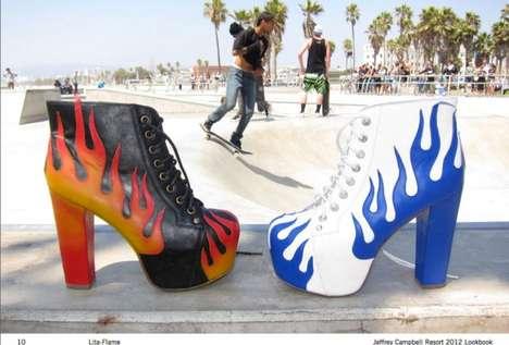 Flammable Shoe Lookbooks