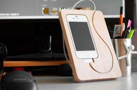 Cutting Board Device Holders