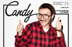 Transgender Photographer Tributes - The Chloe Sevigny 'Candy' Cover is a Terry Richardson Disguise