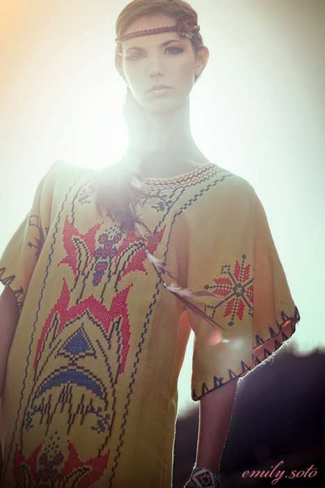 Tribal Dreams - Emily Soto Captures an Awesome Aboriginal-Inspired Shoot