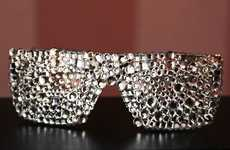 Stunning Crystallized Shades - The Swarovski Studded Sunglasses will Make You Feel Star-Worthy