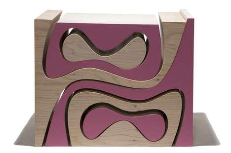 Fluid Jigsaw Furniture