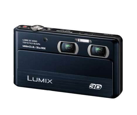 3D Digital Cameras - The Panasonic Lumix 3D1 Adds a New Dimension to Photography