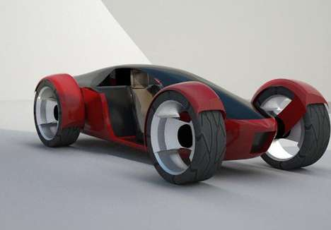 Futuristic Workday Roadsters - The Pod Single-Seat Urban Vehicle is Designed for the Nine to Five