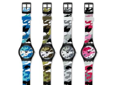 Militarized Euro Timepieces