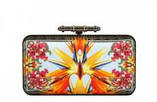 Vibrant Floral Purses - The Givenchy AW 2011 Handbags Feature Prints from the Resort and Fall Lines