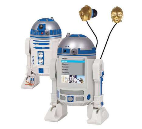 Sci-Fi Droid Music Makers
