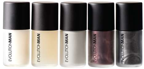 Men-Only Manicures - EvolutionMan Offers a Range of Nail Polishes Specifically for Guys