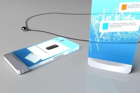 Projecting Smartphone Pendants