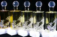 Crystallized Floral Fragrances - The Chantecaille Cimon Collaboration is a Priceless Work of Art