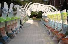 Eccentric Green Spaces - The American Philosophical Society Greenhouse is Postmodern