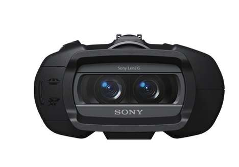 3D Digital Binoculars - Sony DEV-5 Helps You Spy with High Technology