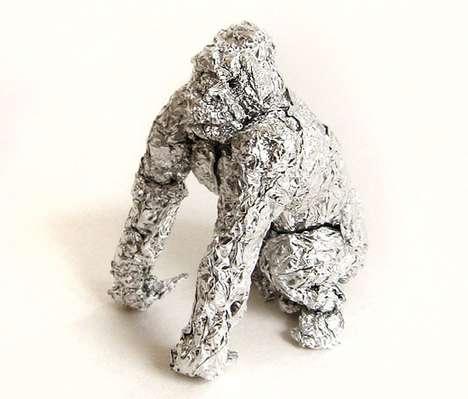 Monstrous Foil Sculptures