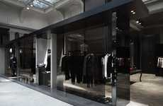 Mega Mansion Fashion Boutiques - The Beautiful Antwerp Verso Store Reflects its Luxurious Offerings