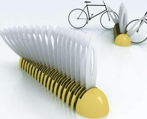 17 Brilliant Bicycle Racks