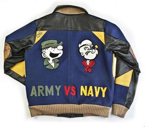 Comic Military Fashion