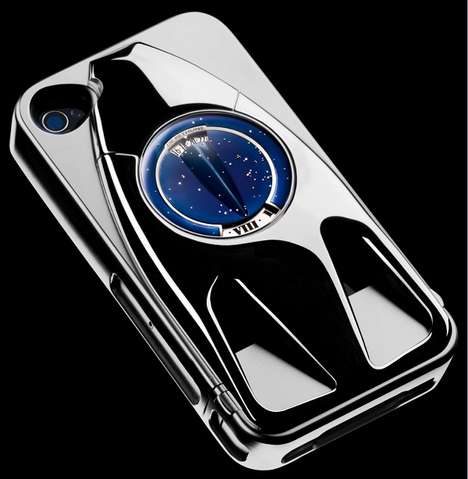 Futuristic Titanium Cases - De Bethune Dedicates the Dream Watch IV to Steve Jobs