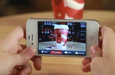 Animated Coffee Apps - The Starbucks Cup Magic App Brings Your Holiday Mocha to Life