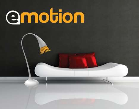 Feeling Floor Lamps - The Emotion Lighting Concept Responds to Human Touch