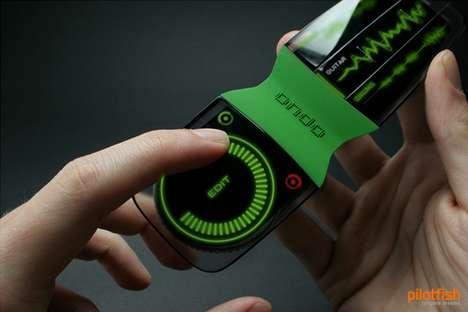 Scratch Track Cellphones