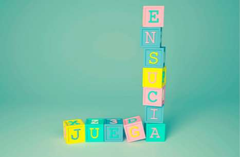 Alphabet Block Advertising
