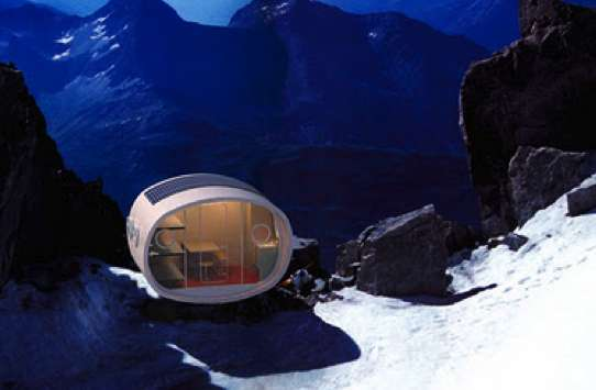 Modular Mountaintop Shelters