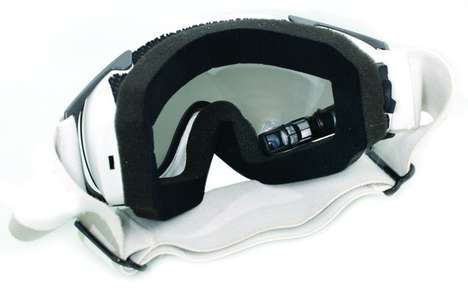 Data Sports Shades - MOD Ski Goggles Load up Stats in Real Time Down the Slopes