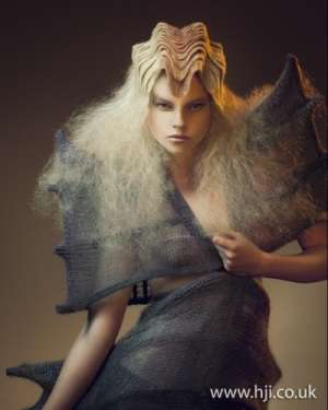 Horn-Like Hairdos  - Johanna Cree Brown Makes it to the Avant Garde Finalist Competition