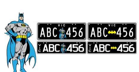 Superhuman License Plates