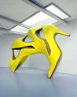 Soaring Footwear Figures
