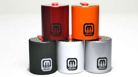 Salt Shaker Speakers
