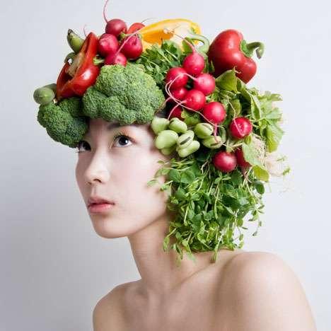 Raw Food Headpieces