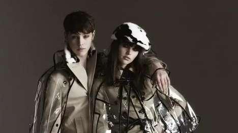 Translucent Couture Capes