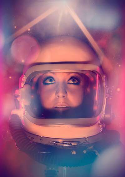 Space Beauty Photo Manipulations