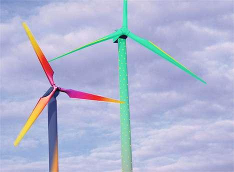 Kaleidoscopic Windmill Designs