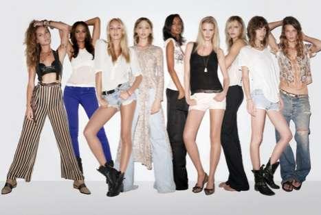 Epic Supermodel Editorials