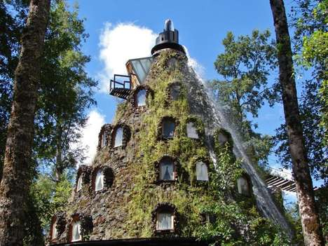 Lava-Less Volcano Hotels