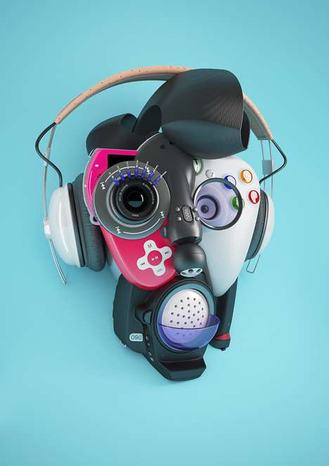 Playful Electronic Portraits