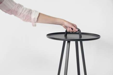 Transportable Side Tables