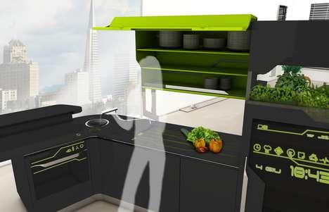 Hi-Tech Connected Kitchenettes
