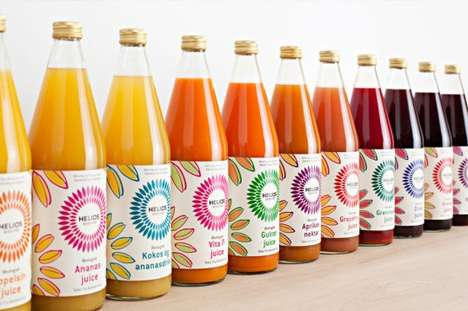 Helios and Uniform Creative Vivacious Packaging for Organic Food