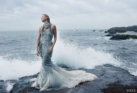 Mermaid Celebrity Shoots