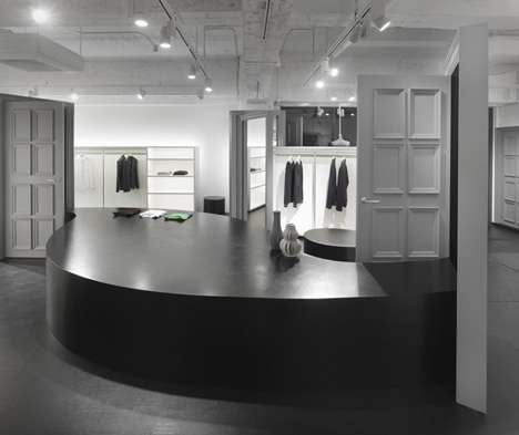 Door-Filled Fashion Boutiques