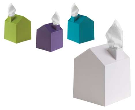 House-Shaped Kleenex Boxes