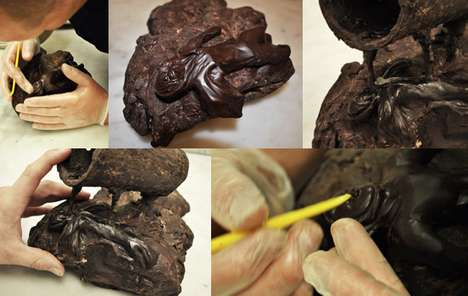 Scrumptious Chocolate Sculptures - Hakan Martensson Creates Confection Masterpieces
